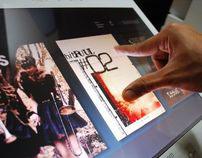 Digital Magazine Experience design