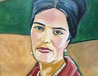 Portrait mother of P. Duchên
