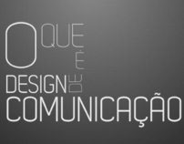 Typography video 'What is Communication Design'