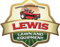 Lewis Lawn Care Logo designs