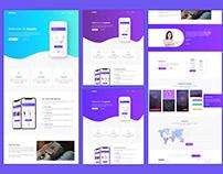Freebie - App Landing Page