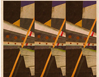 Hoboken Piers 1910 // Poster Design