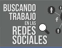 Infografía: Buscando trabajo en las redes sociales