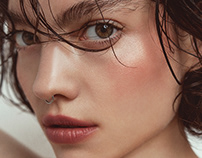 DESIREE (BEAUTY) FOR VOGUE RUSSIA