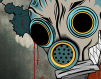 Gas Mask Clown