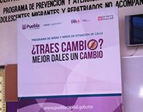 Campaña Publicitaria DIF Municipal Puebla