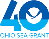 Ohio Sea Grant 40th Anniversary Logo