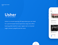 Usher - Movie Booking iOS App