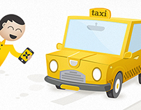 inTaxi - mobile application for taxi booking experience