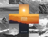Schweiz 2016 - Kalender