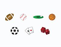 Activities Icon Set