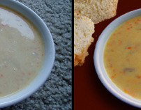 Soup - Before & After Photoshop