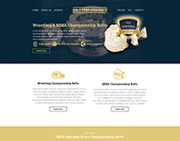 Custom Belts Web Design
