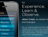 Mr. Crean | iPhone App