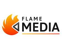 Flame Media Logo Design