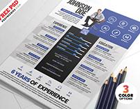 Creative Resume CV Templates PSD