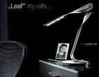 Leaf Light advertisement, published and concepts