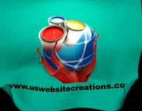 U.S. Website Creations - Cloth Logo Reveal