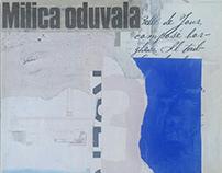 Milica oduvala, mixed media on canvas, 20x20cm, 2019.