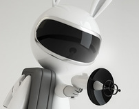 Space Rabbit - Animation