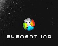 ELEMENT IND | Logo Design