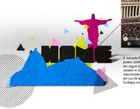 Hotsite p/o JMJ RIO 2013 - Jornada Mundial da Juventude