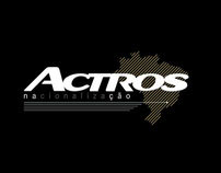 Actros Nationalisation [logotype]