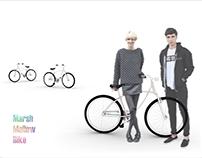 City Bike Frame. Designed for Zasada Bike Company.