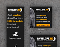 Banner Ads - Anvelope.ro AdWords Campaign 2014