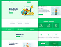 Business Funding Service UI Concept