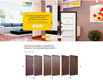 Website for Doors Cheap Company