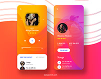 Music Mobile App Design