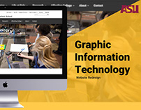 ASU Graphic Information Technology Website