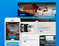 Landing pages Templates for RTÉ Apps
