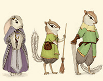 """Character Concepts for """"A Journey Through the Ladder"""""""