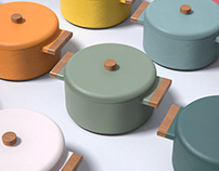 Cookware Colours