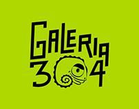 Galeria 304 | Branding