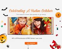 Halloween emailer newsletter