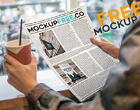 Newspaper V02 – Free PSD Mockup