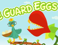 """THE GUARD EGGS"" a new app game for iPhone."