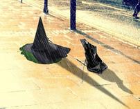 Gustbuster Umbrella Campaign