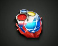 U.S. Website Creations - Distorted Logo Sting