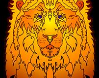Big brown Lion