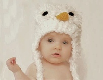Crochet Owl Hat Collection By: Mrs. V's Crochet