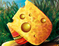 Cheese lover - Amor al Queso - Food illustration