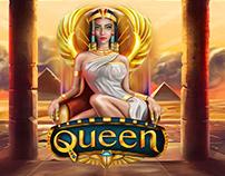Cleopatra Slot Designe (Animated icons)