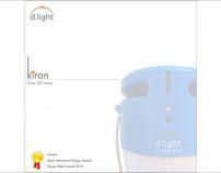 D.light Kiran Solar LED Lamp