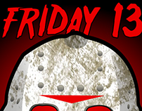 Friday13 Jason mask