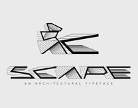 SCAPE - An Architectural Typeface