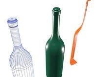 How To MAke A BIG Fiberglass  Wine Bottle!